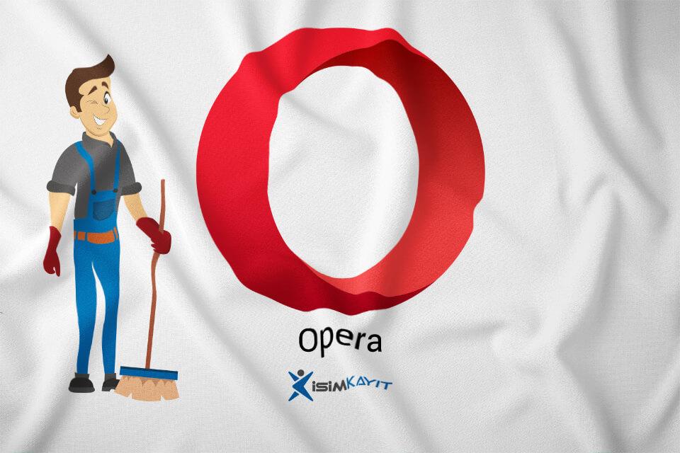 Opera web geçmişi silme