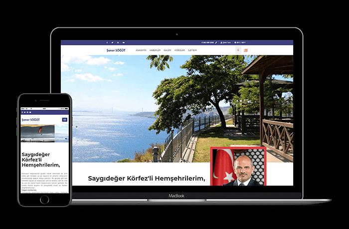 Şener Şögüt web site